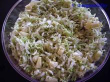 Chinakohlsalat mit Ananas - Rezept