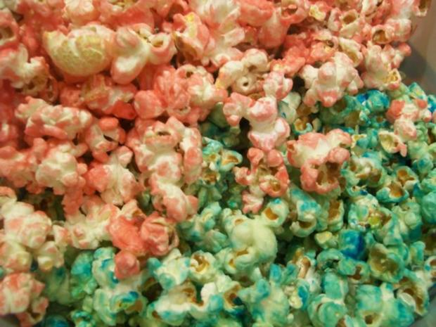 buntes Popcorn - Rezept