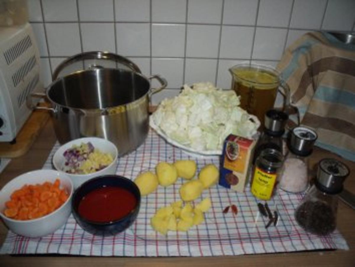 Bilder für würziger Jaromakohl Eintopf (vegetarisch) - Rezept