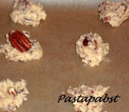 Pekannuss Cookies - Rezept - Bild Nr. 4