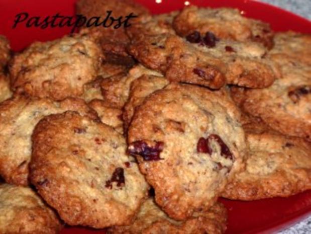 Pekannuss Cookies - Rezept - Bild Nr. 3
