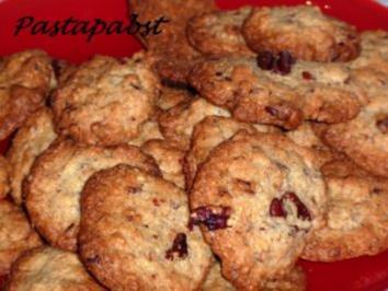 Rezept: Pekannuss Cookies