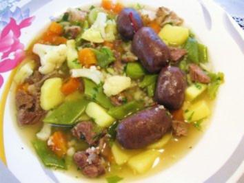 Spanische Gemüsesuppe 2 - Rezept