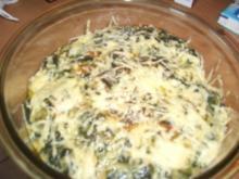 Hähnchenbrustfilets überbacken, grün-gelb - Rezept