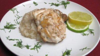 Risotto mit Edelfisch - Rezept
