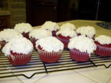 Red Velvet Cupcakes - Rezept