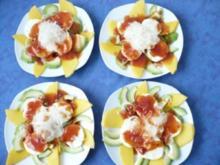 Mango - Schalotten - Carpaccio - Rezept