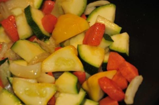 Sobanudeln mit Gemüse - Rezept - Bild Nr. 6