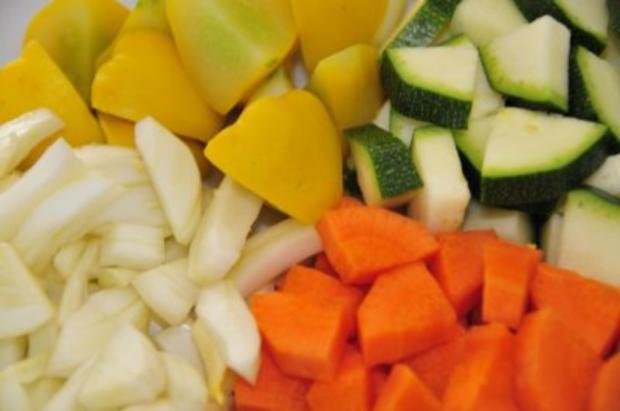 Sobanudeln mit Gemüse - Rezept - Bild Nr. 4