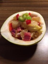 Pomelo-Salat - Rezept