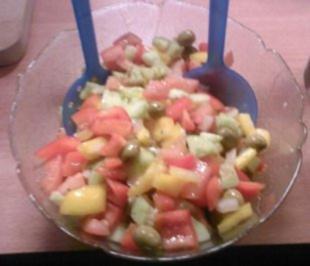 Bauernsalat ohne Käse - Rezept