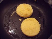 Polentaschnitten mit Käse - Rezept