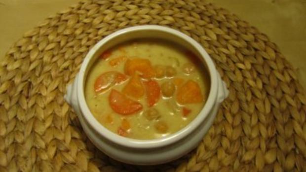 Süßkartoffel-Kichererbsen-Eintopf - Rezept