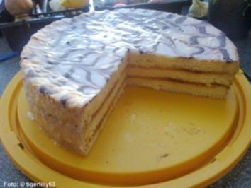 Punsch-Torte - Rezept