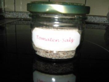 Gewürz: Tomatensalz - Rezept