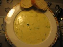 Käse-Lauch-Suppe Vegetarisch - Rezept