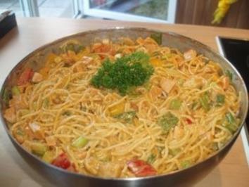 Rezept: Spaghettisalat