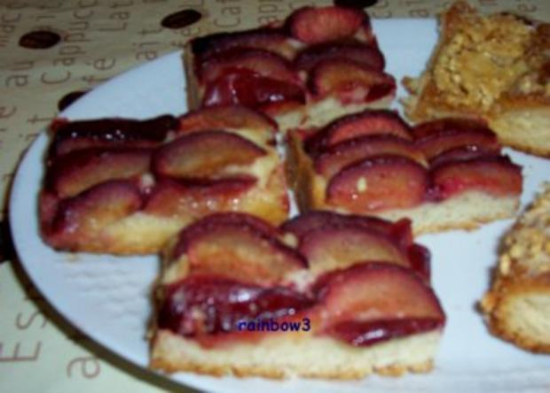 Backen: Pflaumenkuchen vom Blech - Rezept