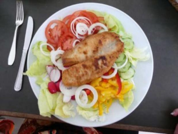 Salat : Bunter Salatteller mit Joghurtsoße - Rezept - Bild Nr. 2