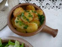 Beilagen : Gebratene Kartoffelklöße - Rezept