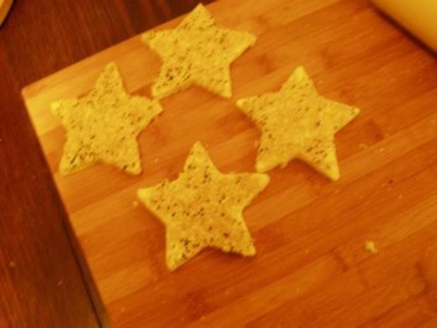 Essen deko toastbrotsterne rezept for Deko essen