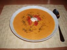 Süßkartoffelsuppe - Rezept