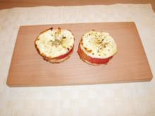 Überbackene Apfelscheiben - Rezept