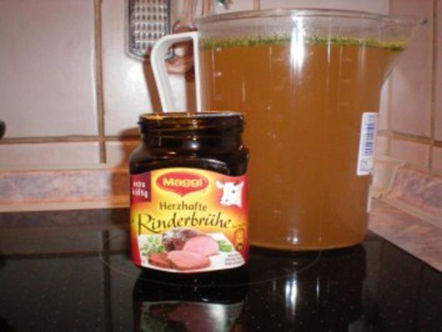 Käse-Suppe mit Lauch und Hack - Rezept - Bild Nr. 5