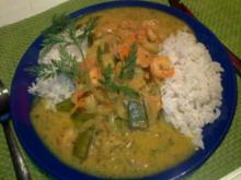Curry-Shrimps-Pfanne - Rezept