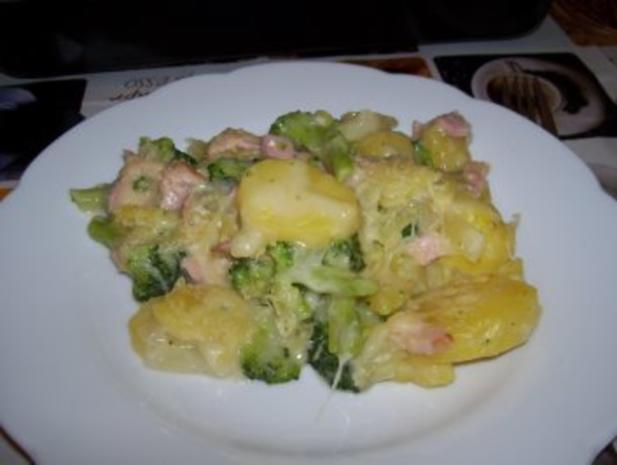 Broccoli-Kartoffel-Schinken Auflauf - Rezept - Bild Nr. 3