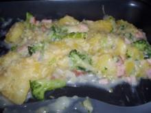 Broccoli-Kartoffel-Schinken Auflauf - Rezept