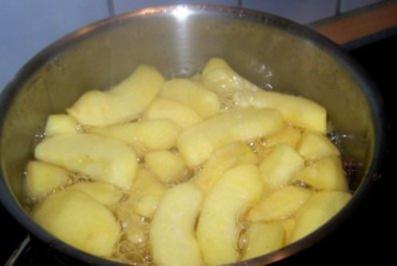Apfelkompott - Rezept
