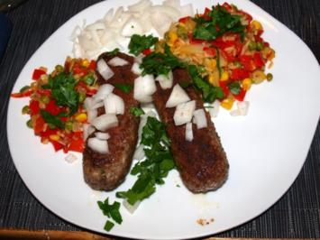Rezept: Ćevapčići(Hackfleischröllchen aus Kroatien)