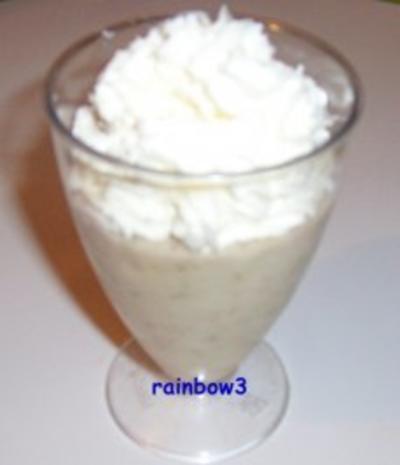 Dessert: Bananen-Kokos-Pudding - Rezept