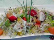 bunter Frühlingssalat - Rezept