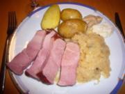 Sauerkraut mit Schinken und Kartoffel - Rezept