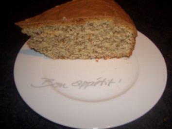 Kuchen : Nusskuchen mit Bailey´s - Rezept