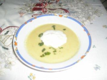 Rezept: Sellerieschaumsuppe