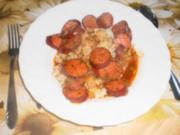 CHORIZO EN SIDRA ~ Chorizo in Apfelwein - Rezept