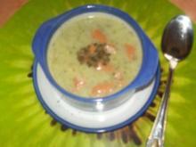 Feines Brokolie Süppchen mit Wiener - Rezept