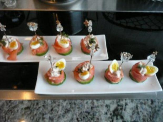 Gruß aus der küche rezepte  FINGERFOOD/TAPAS /FISCH:Lachsröllchen - Rezept - kochbar.de