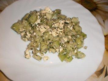 Gurken-Feta-Salat - Rezept