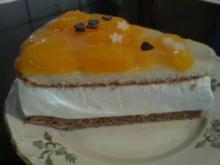 Mandarinen-Quark-Sahne-Torte - Rezept