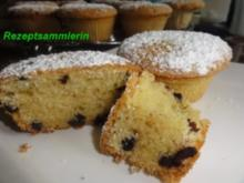 Muffin:   MANDEL-SCHOKO - Rezept