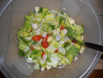 Rezept: SALAT - Uta's schneller gemischter Salat