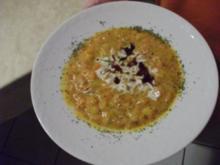 Hokkaido-Suppe mit Biss - Rezept