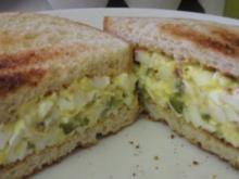 Eiersalat-Sandwich - Rezept