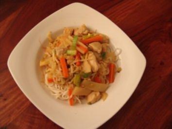 Asia Style Hähnchenpfanne - Rezept