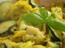 Gelb und Grün - Rezept