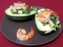 Avocadosalat mit Shrimps - Rezept